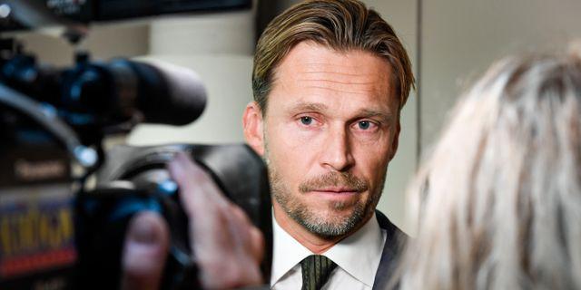 Peter Swaffer. Patrick Trägård//TT / TT NYHETSBYRÅN