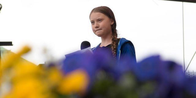 Greta Thunberg.  Janerik Henriksson/TT / TT NYHETSBYRÅN