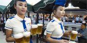 Priset per pint startar på 50 nordkoreanska won, vilket motsvarar fyra svenska kronor. Koryo Tours