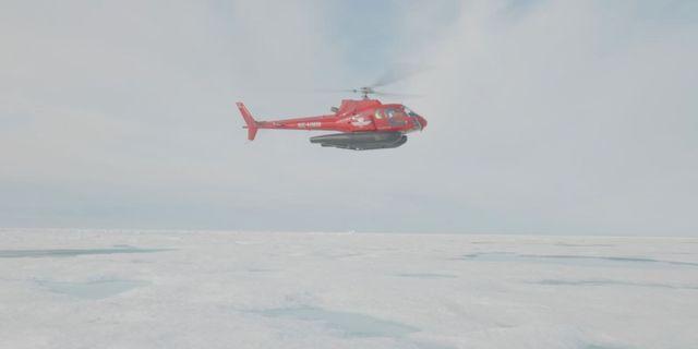 Bild från Arktis. HANDOUT / TT NYHETSBYRÅN
