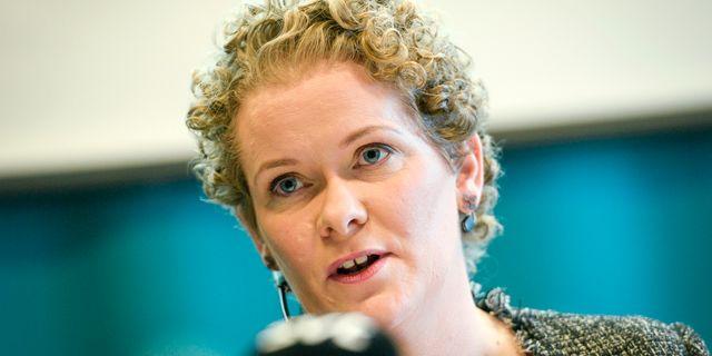 Karin Wanngård (S). Pontus Lundahl/TT / TT NYHETSBYRÅN