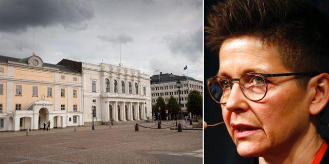 Stadshuset i Göteborg/Ann-Sofie Hermansson (S). TT