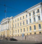 Statsrådsborgen i Helsingfors där statsministerns kansli finns. Wikimedia