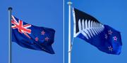"""De två alternativen var att behålla flaggan som den är eller skaffa en ny där """"Union Jack"""" istället ersätts av en svart bakgrund med ett stort vitt blad. Flickr"""