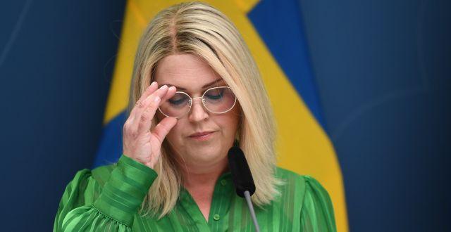 Lena Hallengren. Fredrik Sandberg/TT / TT NYHETSBYRÅN