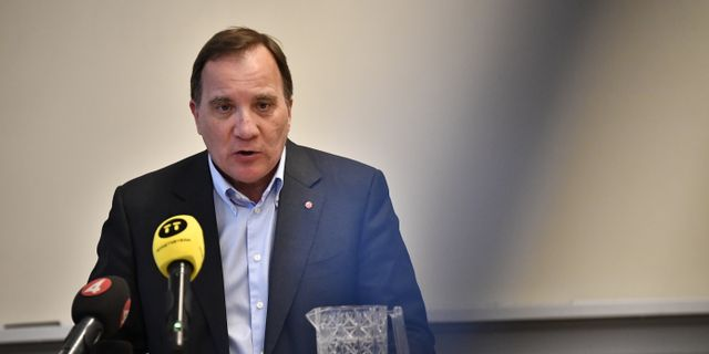 Stefan Löfven. Björn Larsson Rosvall/TT / TT NYHETSBYRÅN