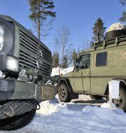 Arméövningen Northern Wind i östra Norrbotten i mars i år. Naina Helen Jåma / TT NYHETSBYRÅN