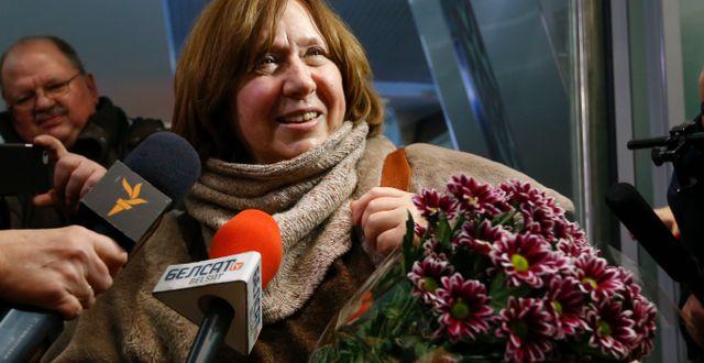 Svetlana Aleksijevitj. Sergei Grits / TT NYHETSBYRÅN