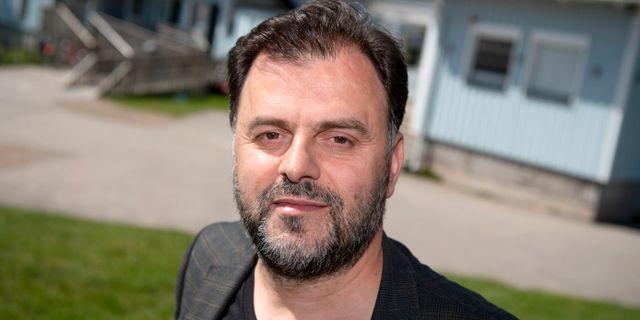 Avdi Islami, presstalesperson för stiftelsen Växjö muslimer Johan Nilsson/TT / TT NYHETSBYRÅN