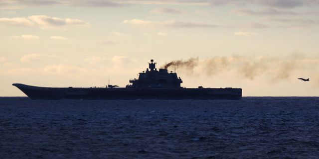 Ryska forsvaret hindrar fartyg