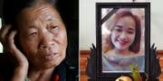 Bild avBui Thi Nhung (th), hennes moster Anna Tran Thi Thanh (th). TT