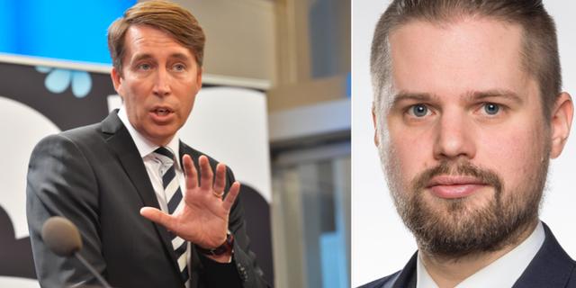 Richard Jomshof/Simon Alm. TT/Uppsala kommun