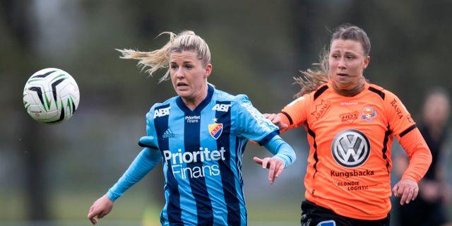 Emilia Hjertberg th.  Thomas Johansson / TT / TT NYHETSBYRÅN