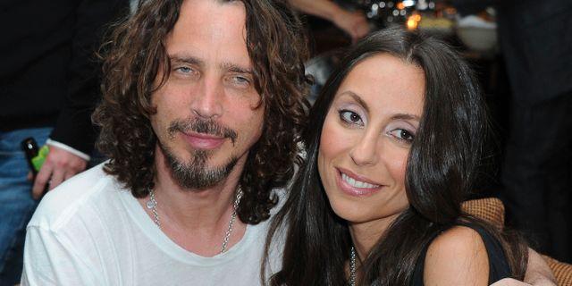 Chris och Vicky Cornell 2012. Katy Winn / TT NYHETSBYRÅN/ NTB Scanpix