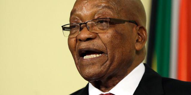 Jacob Zuma. Themba Hadebe / TT / NTB Scanpix