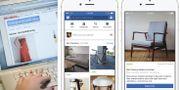 """Blocket utmanas av Facebooks """"marketplace"""", som sedan tidigare finns i USA, Kanada, Mexiko, Chile, Storbritannien, Australien och Nya Zeeland. TT"""
