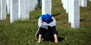 Minnesplatsen nära Srebrenica.  Darko Bandic / TT NYHETSBYRÅN