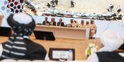 Förhandlingarna pågick i två dagar KARIM JAAFAR / AFP