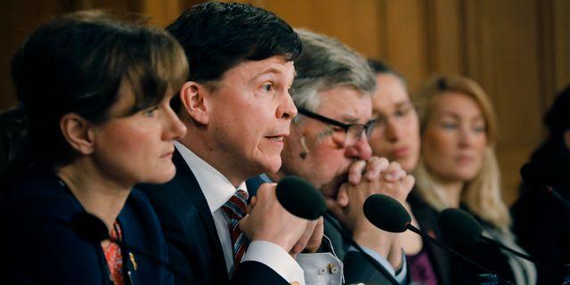 Konstitutionsutskottet håller utfrågningar med statsminister Stefan Löfven Christine Olsson/TT / TT NYHETSBYRÅN