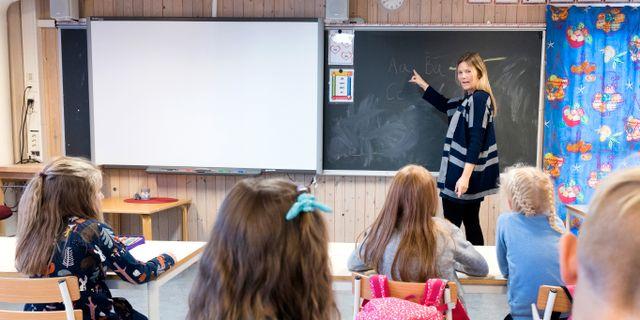 Arkivbild, lärare. Kallestad, Gorm / TT NYHETSBYRÅN
