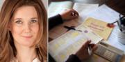 Karin Svanborg-Sjövall, vd för Timbro och en av debattörernas TT