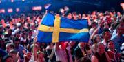Bild från Eurovision Song Contest i Lissabon 2018. Stina Stjernkvist/TT / TT NYHETSBYRÅN