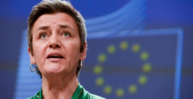 Arkivbild: Margrethe Vestager.  Johanna Geron / TT NYHETSBYRÅN