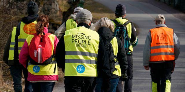 Arkivbild på deltagare ur Missing People. Johan Nilsson/TT / TT NYHETSBYRÅN