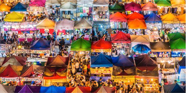 Bangkok är världens populäraste storstad, enligt en ny undersökning. Istock