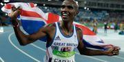 Mo Farah firar efter att ha vunnit OS-guld i Rio i somras Matt Slocum / TT / NTB Scanpix