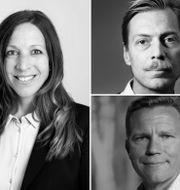 Maria Wallin Fredholm, Martin Grander, Fredrik Kopsch, Jens Magnusson och Claudia Wörmann. Pressbilder