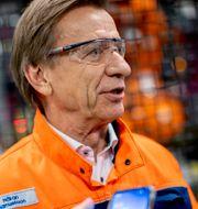 Volvos vd Håkan Samuelsson ADAM IHSE / TT / TT NYHETSBYRÅN