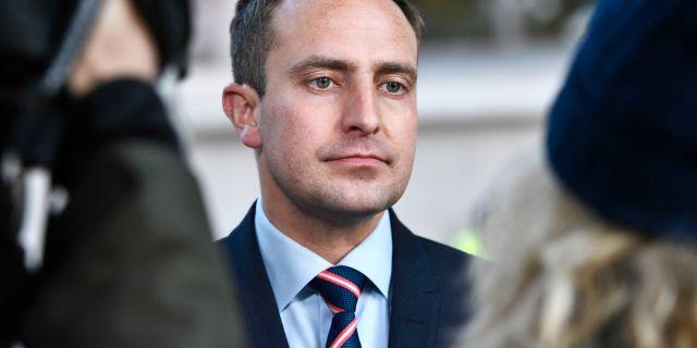 Tomas Tobé (M). Claudio Bresciani/TT / TT NYHETSBYRÅN