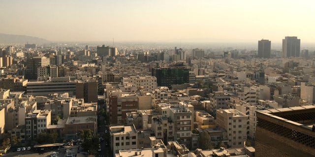 Teheran.  Gabriela Baczynska / TT NYHETSBYRÅN