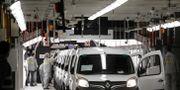 Renaults fabrik i Maubeuge i Frankrike.  LUDOVIC MARIN / TT NYHETSBYRÅN