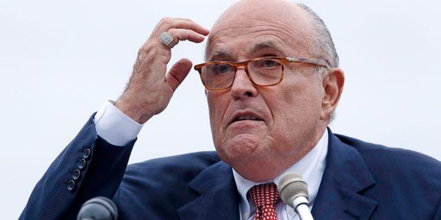 Rudy Giuliani, arkivbild.  Charles Krupa / TT NYHETSBYRÅN