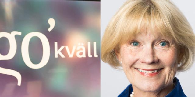 """Ingalill Mosander sparkas som recensent för """"Go'kväll"""". SVT/Mattias Ahlm/Sveriges Radio"""