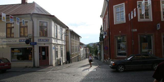 Storgatan i Östersund. Wikimedia Commons