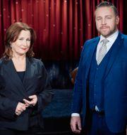 """""""Min sannings"""" programledare Anna Hedenmo och Mattias Karlsson. SVT"""