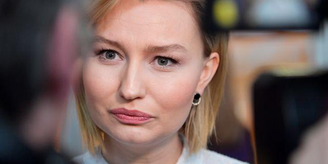Ebba Busch Thor.  Jessica Gow/TT / TT NYHETSBYRÅN