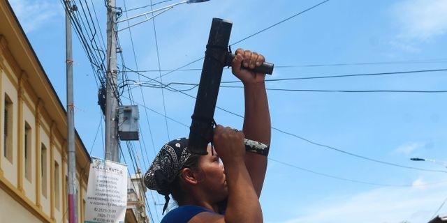 Nicaragua hotas av epidemier