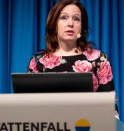 Arkivbild: Vattenfalls tillträdande vd Anna Borg.  Christine Olsson/TT / TT NYHETSBYRÅN