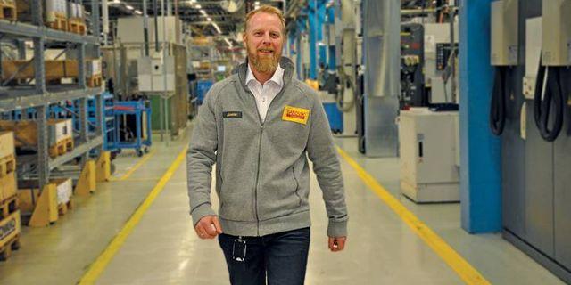 Joakim Fagerudd på Sandvik Coromant. Sandvik Coromant
