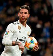 Sergio Ramos.  JAVIER SORIANO / AFP