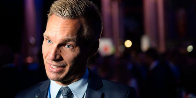 Erik Slottner (KD). FANNI OLIN DAHL / TT / TT NYHETSBYRÅN