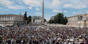 Rom i Italien på söndagen.  Roberto Monaldo / TT NYHETSBYRÅN