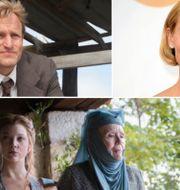 Woody Harrelson, Claire Danes, Game of Thrones TT