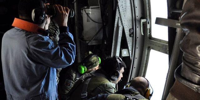 Bild från den argentinska flottan som söker ubåten. TT / NTB Scanpix