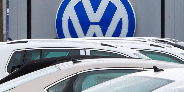 Volkswagengruppen gjorde 2016 sitt bästa år någonsin, med 10,3 miljoner sålda bilar PAUL J. RICHARDS / AFP