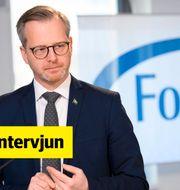 Mikael Damberg (S), inrikesminister.  Henrik Montgomery/TT / TT NYHETSBYRÅN
